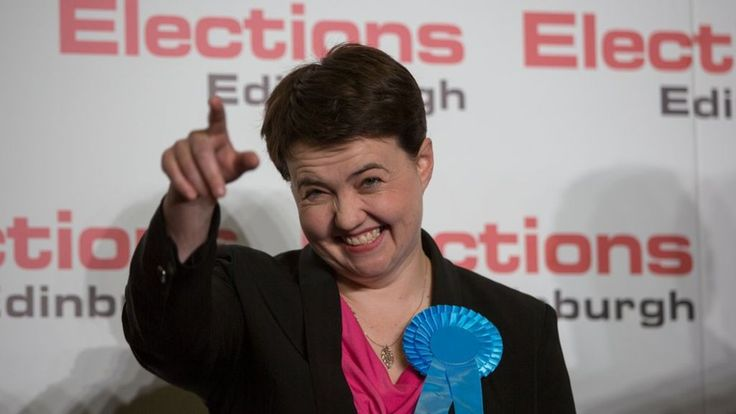 The Scottish Conservatives will be the second largest party at Holyrood following a night of significant gains. After results from the regional lists were returned, the Tories ended up with 31 seats - 32 behind the SNP on 63. Scottish Labour won 24 seats, the Scottish Greens six and the Lib Dems five. Scottish Conservative leader Ruth Davidson celebrated after she won the Edinburgh Central seat from the Nationalists.