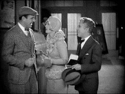 """5 William Haines, Marion Davies and Charlie Chaplin in the 1928 silent comedy """"Show People."""""""