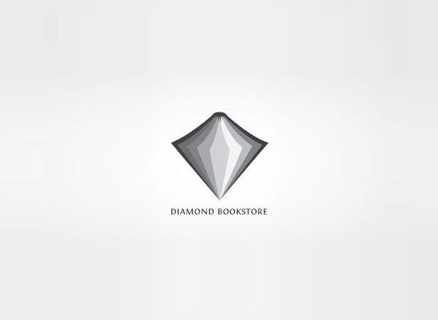 Diamond Bookstore, Montreal. | 15 Super-Cool Logos