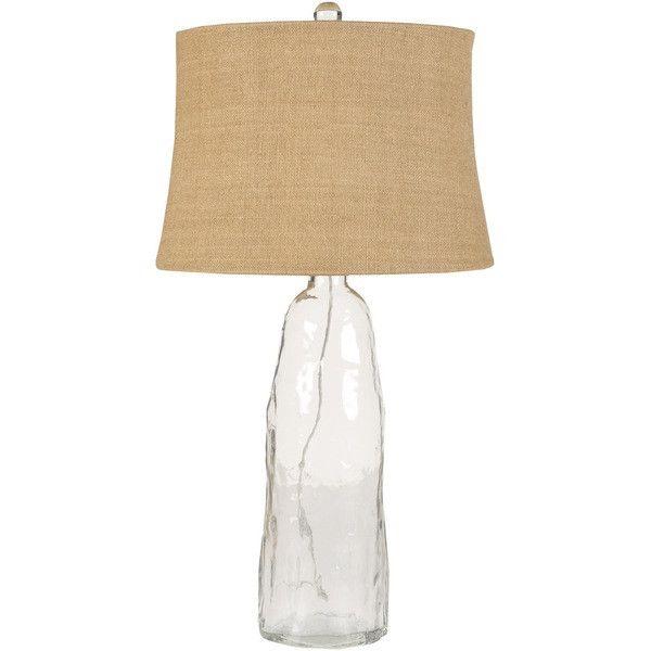 Surya Bronze & Silver Table Lamp