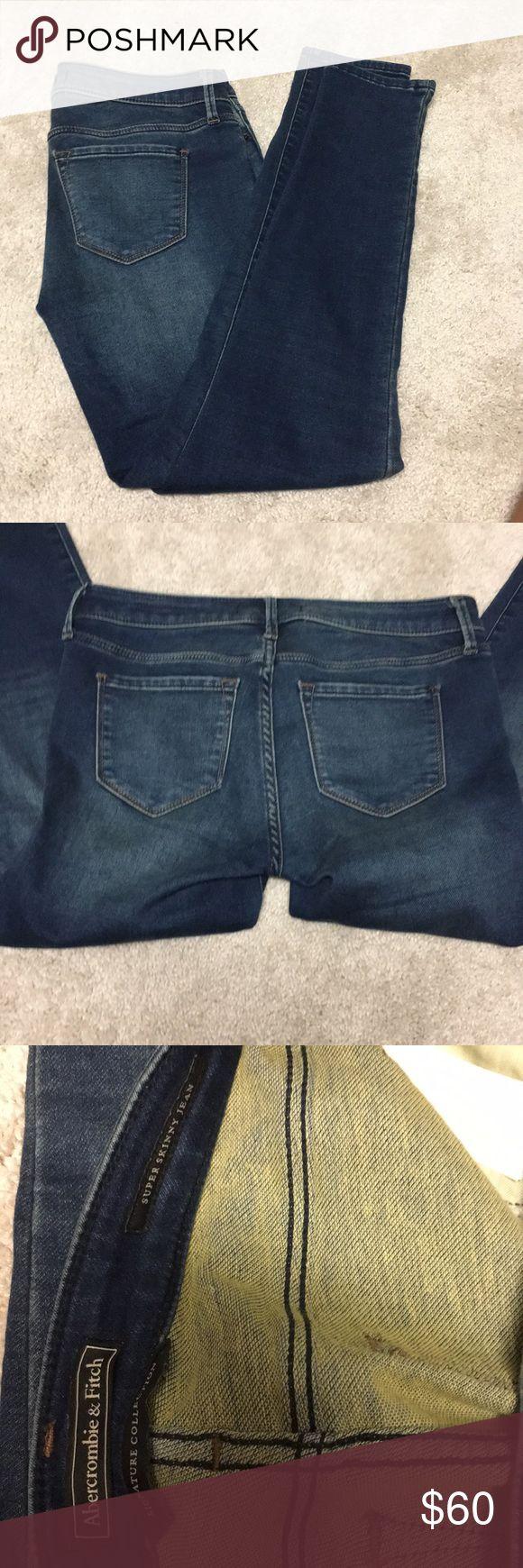 Abercrombie jeans Brand new Abercrombie skinny jeans Abercrombie & Fitch Pants Skinny