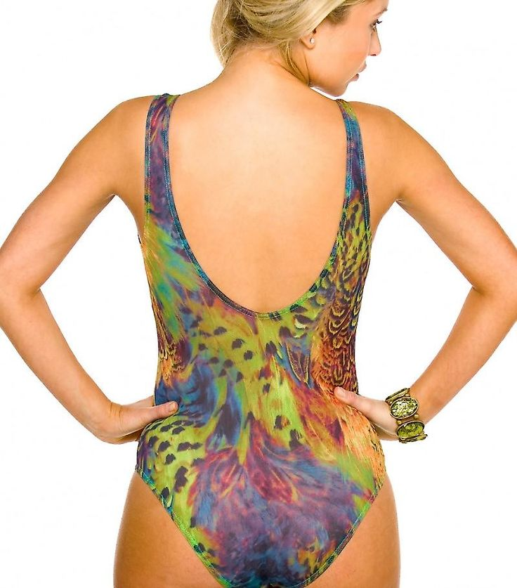 Amalfi Tan Through Support Top Swimsuit | Fruugo