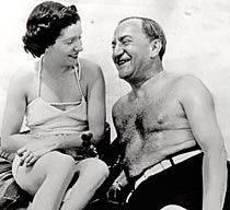Nicholas Schenck and his wife. Schenck ran MGM and a whole lot of movie theatres - at a time when you were allowed to do both.