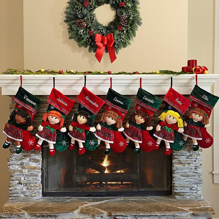 Christmas Rag Doll Stocking 23 best Extra