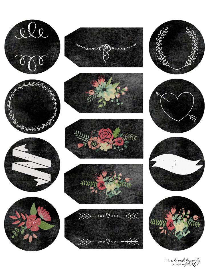 Pin by Roaya on Icons Printable labels, Chalkboard