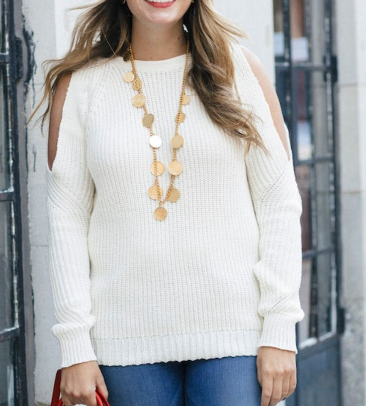 Shop this look at The Stripe Store #sweater #sweatershirt #white #whitesweatshirt #coldshoulder #whitecoldshouldersweatshirt @thestripe @glamourous #ootd #onlineshopping #lookave #onlineshopping #streetstyle #style #fashion #outfit
