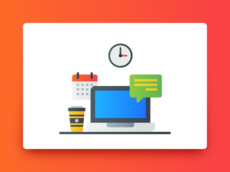 A Cluttered Desk is a sign of genius. Fresh mind and a cup of coffee is all you need to start your day. #Freebie #free #icon #userneeds #daily #stuff #laptop #gradient