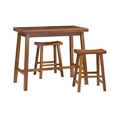 Carolina Cottage Asian Bar Table, Walnut Finish