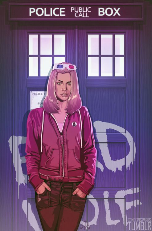 Rose Tyler - http://conceptsparks.tumblr.com/