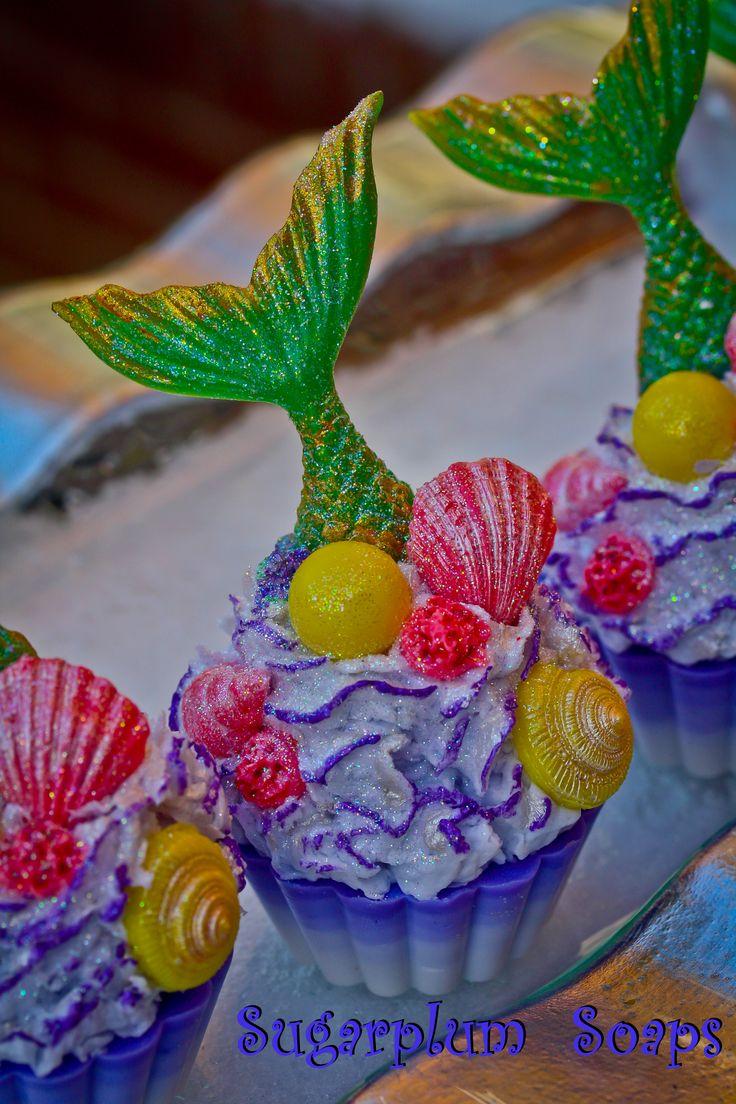 splish splash cupcake soaps