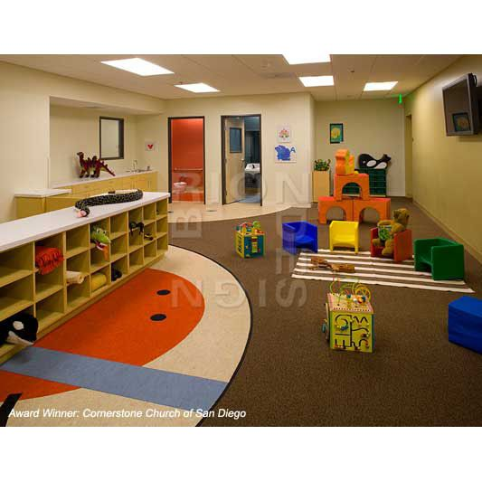 Church Nursery Furniture Interior Design