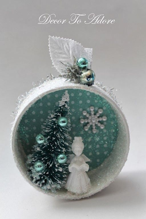 beautiful holiday miniatures from decor to adore