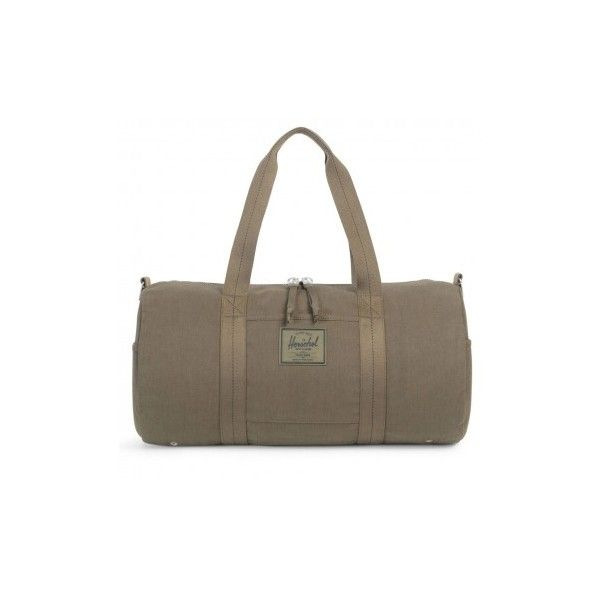 Herschel Sutton Army Surplus Duffle Bag ❤ liked on Polyvore featuring bags, handbags, army duffle bag, herschel handbag, herschel, herschel bag and herschel purse