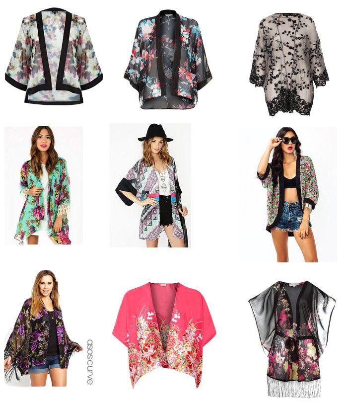 Kimono love - Spring fashion trend finds!