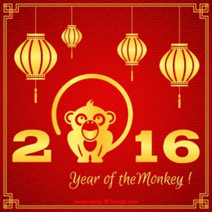 2016 - ano do macaco de fogo - horóscopo chinês - feng shui