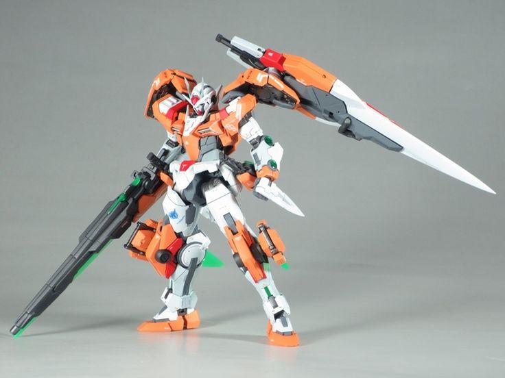 Custom Build Rg 1 144 00 Raiser 00 Gundam Seven Sword