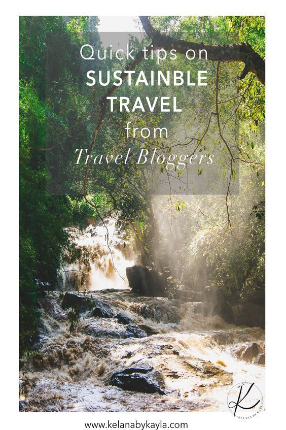 With more people travelling than ever before its very important we practice sustainable travel. Here are some tips from the experts- travel bloggers.