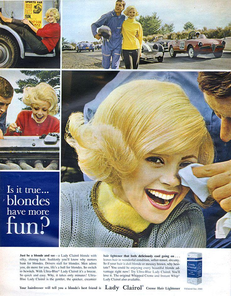 Lady Clairol - 1963   Clairol   Pinterest   Vintage hair ...