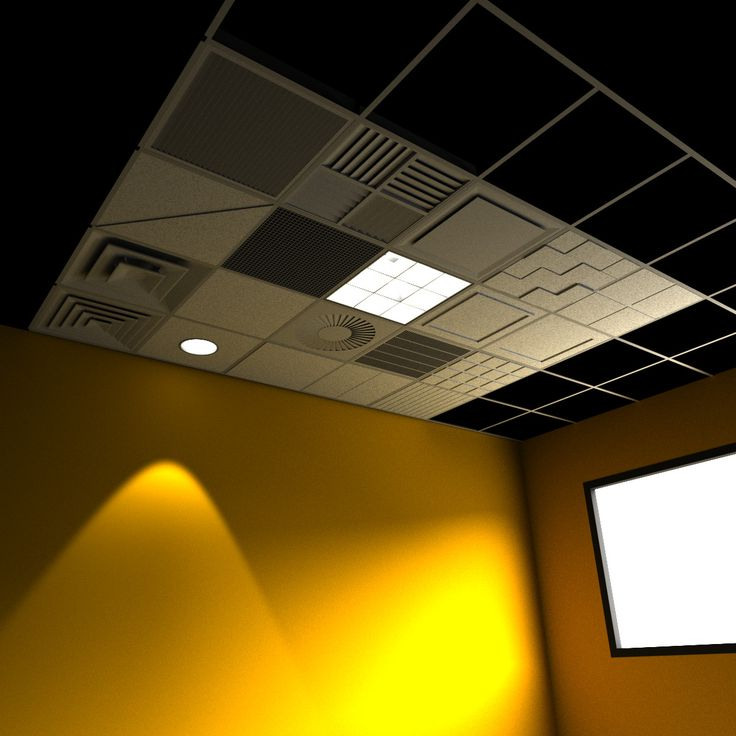 Drop Ceiling Grid Setting 3D 3Ds   3D Model