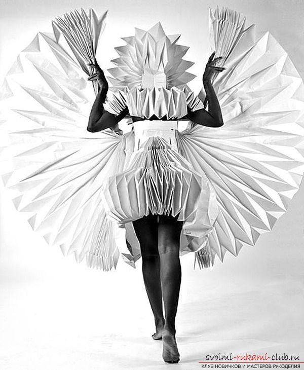 Интересные костюмы из бумаги своими руками, их можно сделать в течении 10 минут по нашей инструкции.