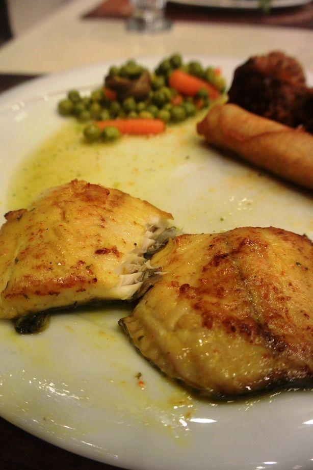 De musht... Een vis die leeft in het Meer van Galilea. Tegenwoordig meer bekend onder de namen Zonnevis en Petrusvis.