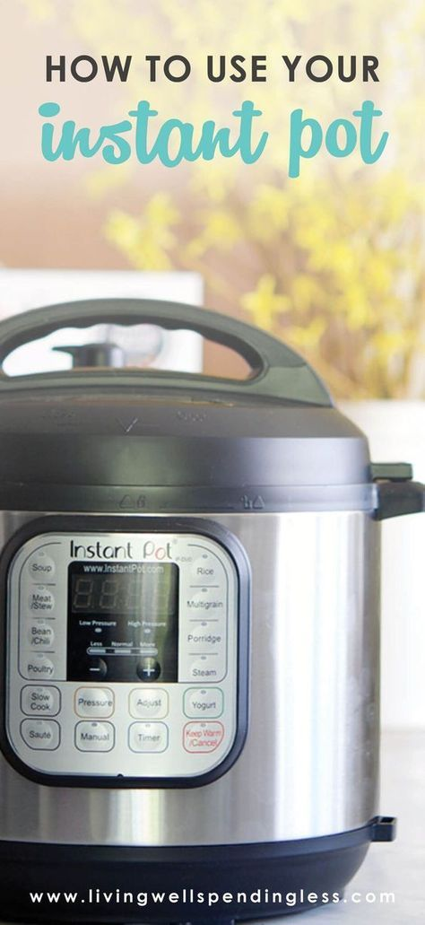 Instant Pot 101 | Food Made Simple | Fast Cooking Tips | Quick Meal Recipes via @lwsl