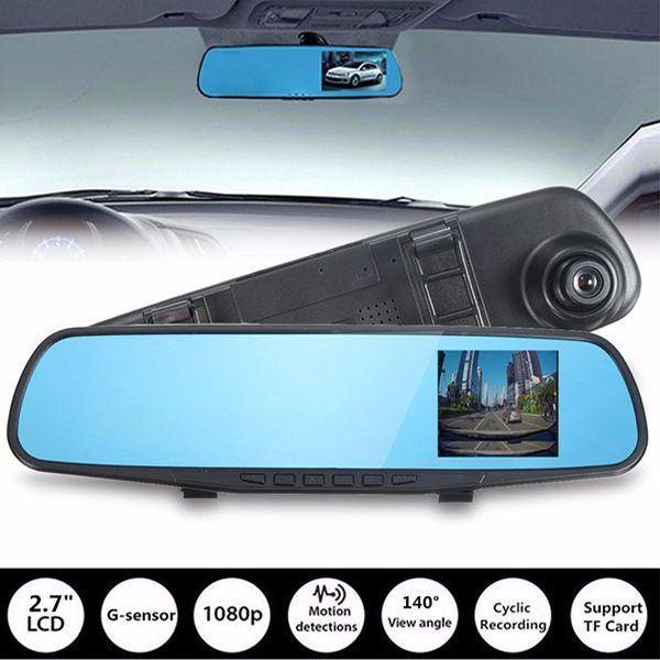 Car DVR G-Sensor 1080p Rear View Mirror