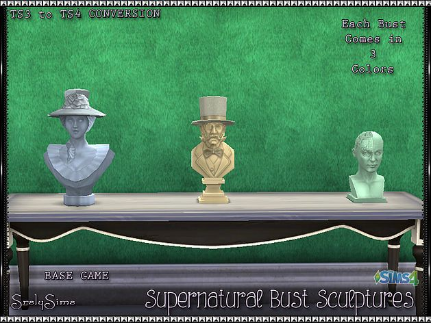 SrslySims | Supernatural: Bust Sculptures