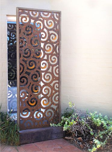 Urban Design Systems |URBAN DESIGN SYSTEMS - LASER CUT METAL SCREENS - ROUGH SEAS- Decorative Laser Cut Metal Screens