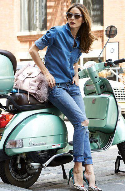 オリビア・パレルモ - 完璧すぎる!Westward Leaningとコラボサングラス発表 | 海外セレブファッションスナップ CELEB SNAP