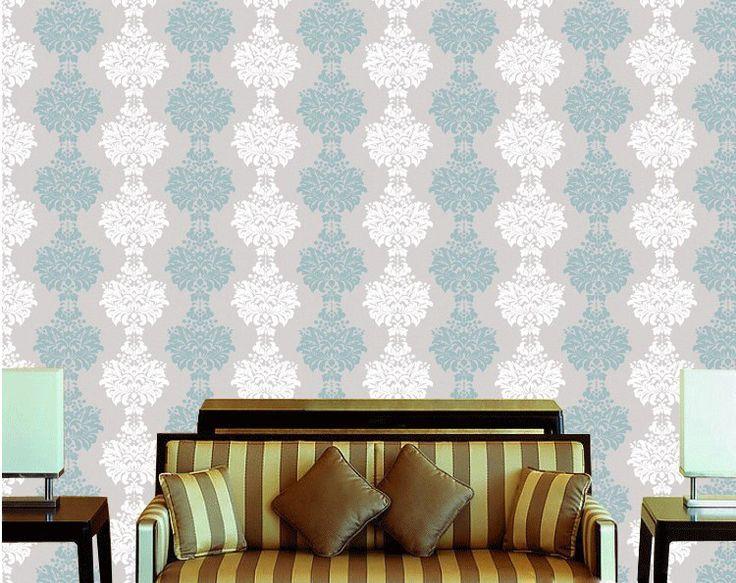damast bloemen europa klassieke pvc behang behang roll voor de woonkamer slaapkamer home decor papel de parede in  Model: wped- 01Materiaal: pvcMetrisch formaat: 10m( lengte)*0.53m( breedte) =5.3 vierkante meterKeizerlijke groot van wallpapers op AliExpress.com | Alibaba Groep