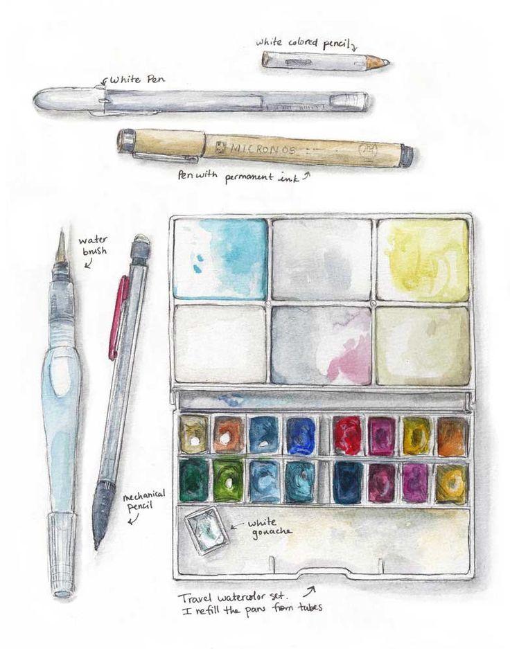 Weekly Sketch Sketch Kit Dessin Aquarelle Carnets De Croquis
