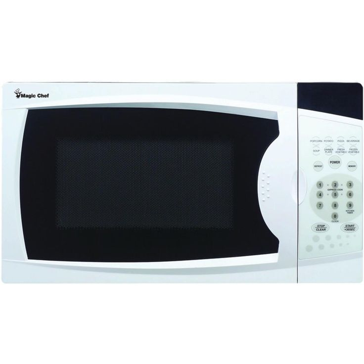 Magic Chef .7 Cubic-ft 700-watt Microwave With Digital Touch (white)