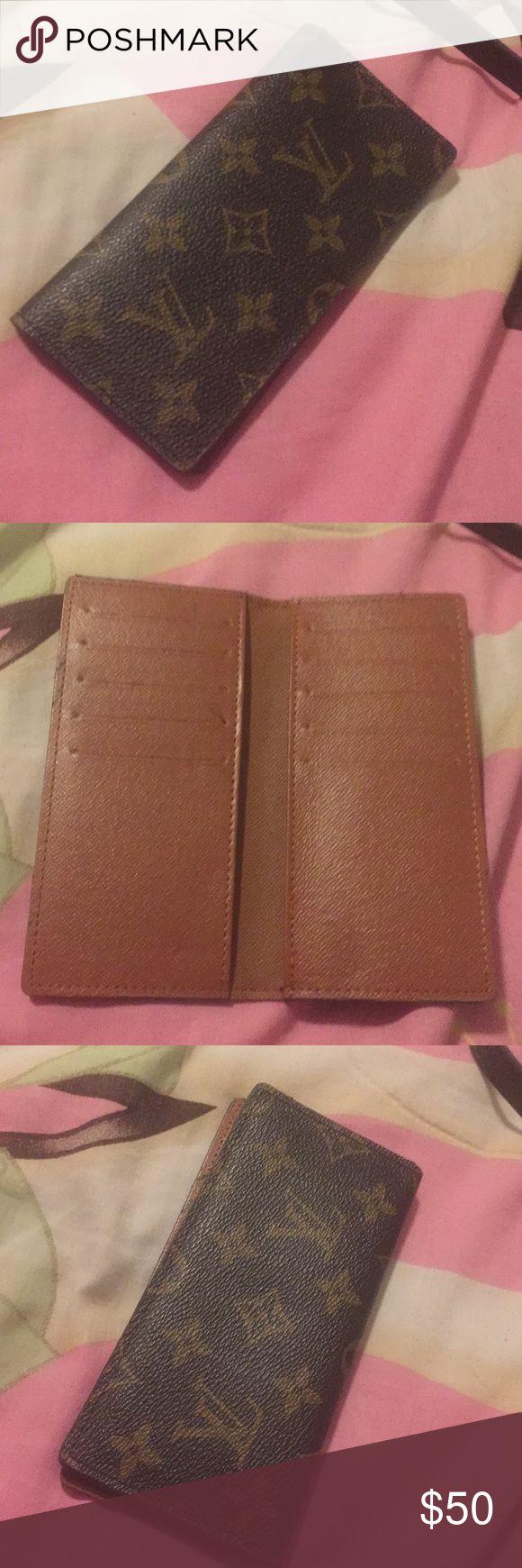 Louise Vuitton Wallet New Louis Vuitton wallet. Not Real Louis Vuitton Accessories Key & Card Holders