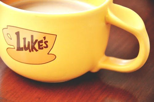 luke's diner coffee mug from gilmore girls - Google Search
