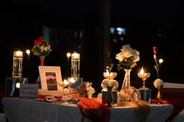 Romantic Dinner Nov 1, 2015