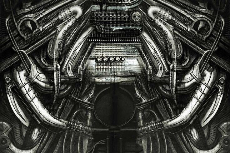 Popular Hr Giger Art-Buy Cheap Hr Giger Art lots from China Hr ...