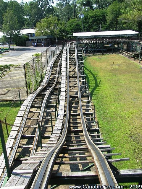 The Little Dipper @ Camden Park ~ West Virginia's only amusement park ~ over 100 yrs. old & still has the original wooden roller coaster The Big Dipper ~ located in my hometown Huntington! ♥
