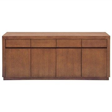 Toronto Wooden 4 Door 4 Drawer 200cm Buffet Table