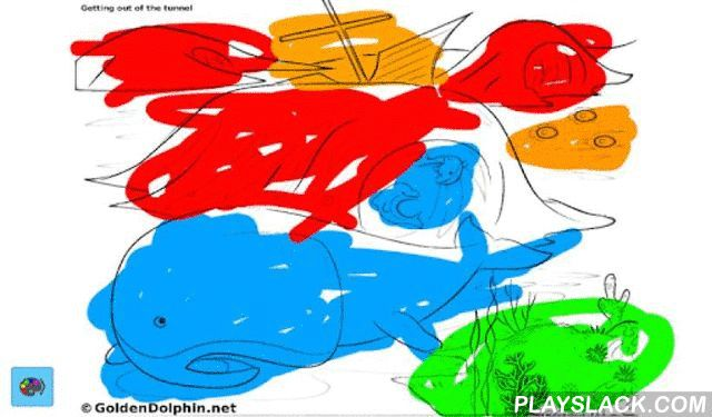 Golden Dolphin Coloring App  Android App - playslack.com , If you love dolphins and underwater adventures like I do then this app is for you . Color dolphins and underwater images with some of the characters of The Golden Dolphin children book