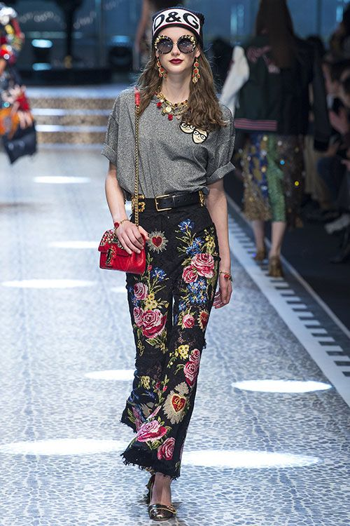 Коллекция Dolce & Gabbana осень-зима 2017/18
