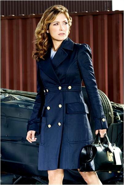 Style icon: Sasha Alexander as Dr. Maura Isles (Rizzoli and Isles)