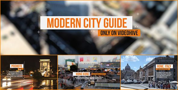 Need to promote your city, travel company, or any else? Well, look at this stuff! Nice one as for me :) http://videohive.net/item/modern-city-guide/6527804?ref=ZuzuZa