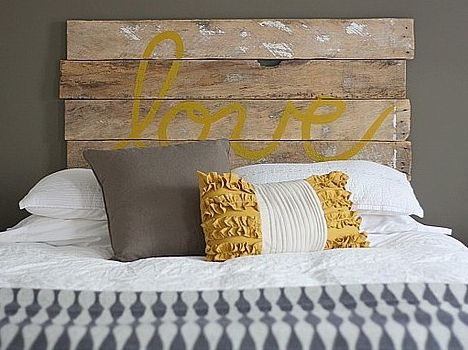 Salvaged Wood Headboards : TreeHugger