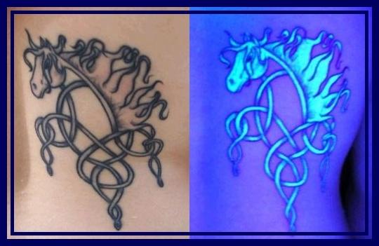 68 best 3d tattoos images on pinterest tatoos cool for Uv tattoo health risks