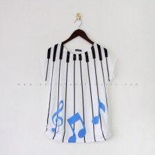 Muzique Tees - Blue
