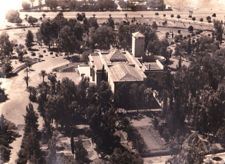 The Casino of Marrakech - View from the sky