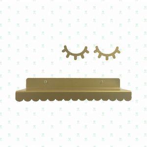 Eina Design metalen wandplankje goud   Eina Design   Kids Boetiek