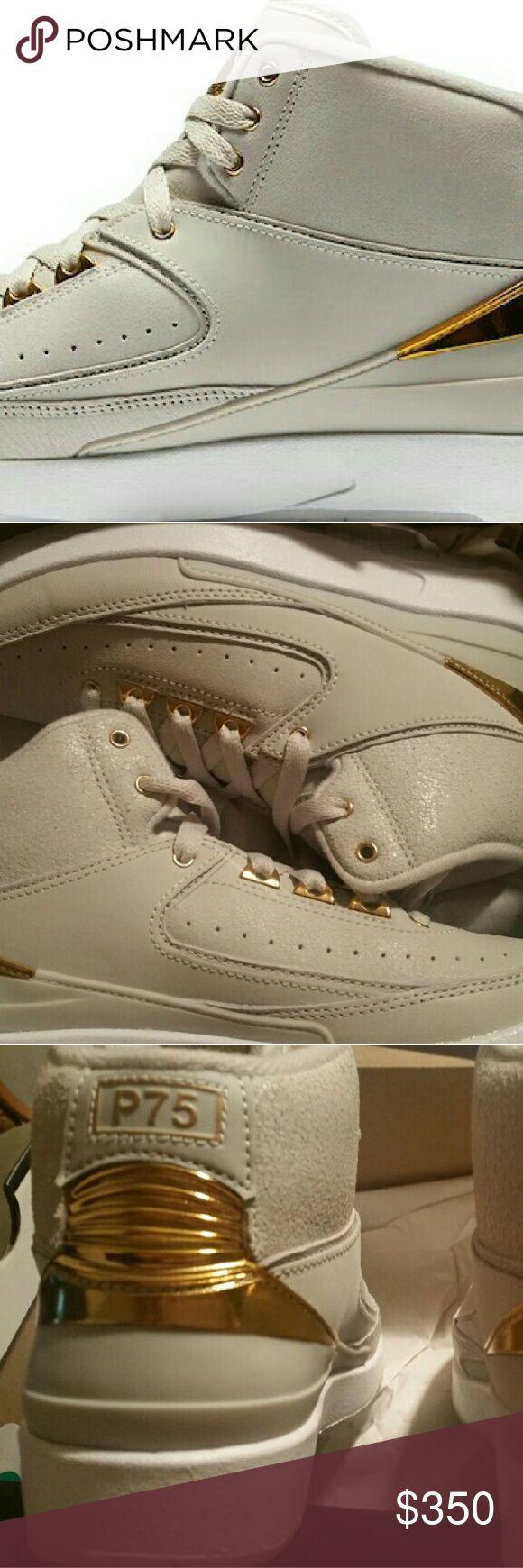 Jordan retro 2 quai 54 size 3.5y Jordan retro 2 quai 54 size 3.5y brand w/retail receipt Europe exclusive. .never released in the U.S limited sneaker Jordan Shoes Sneakers