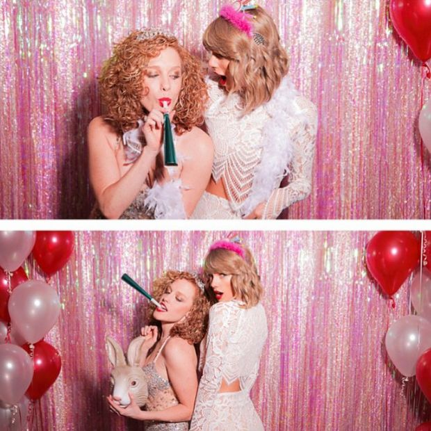 How to Throw a Taylor Swift-Worthy Summer Party | Photo Booth | Her Campus | http://www.hercampus.com/diy/parties-gifts/how-throw-taylor-swift-worthy-summer-party